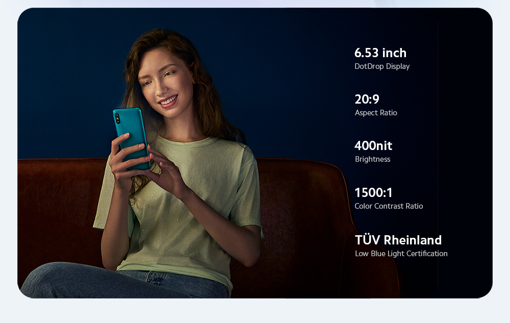 Xiaomi Redmi 9A 4G Smartphone Screen