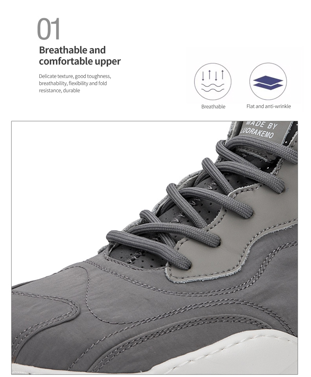 Men Shoes Breathable and comfortable upper