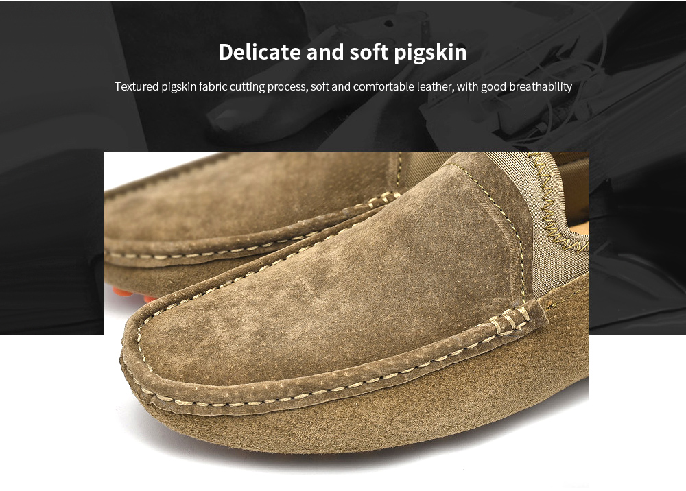 SENBAO Men Leather Shoes Delicate and soft pigskin