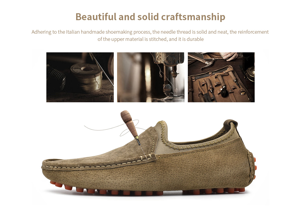 SENBAO Men Leather Shoes Beautiful and solid craftsmanship