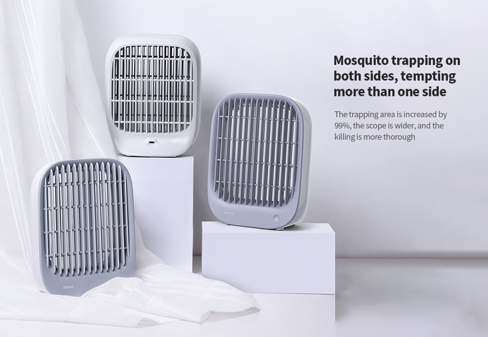 Baseus ACMWD-BJ02 Desktop Mosquito Lamp Mosquito trapping on both sides, tempting more than one side
