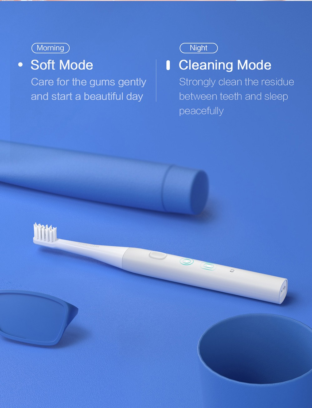 PT01 Electric Toothbrush two modes