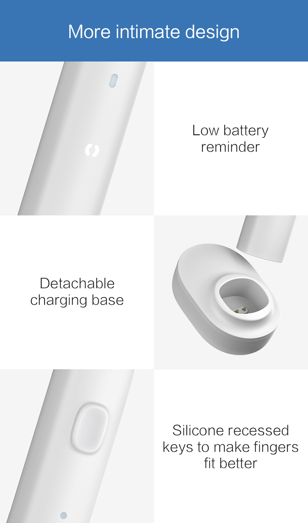 PT01 Electric Toothbrush details