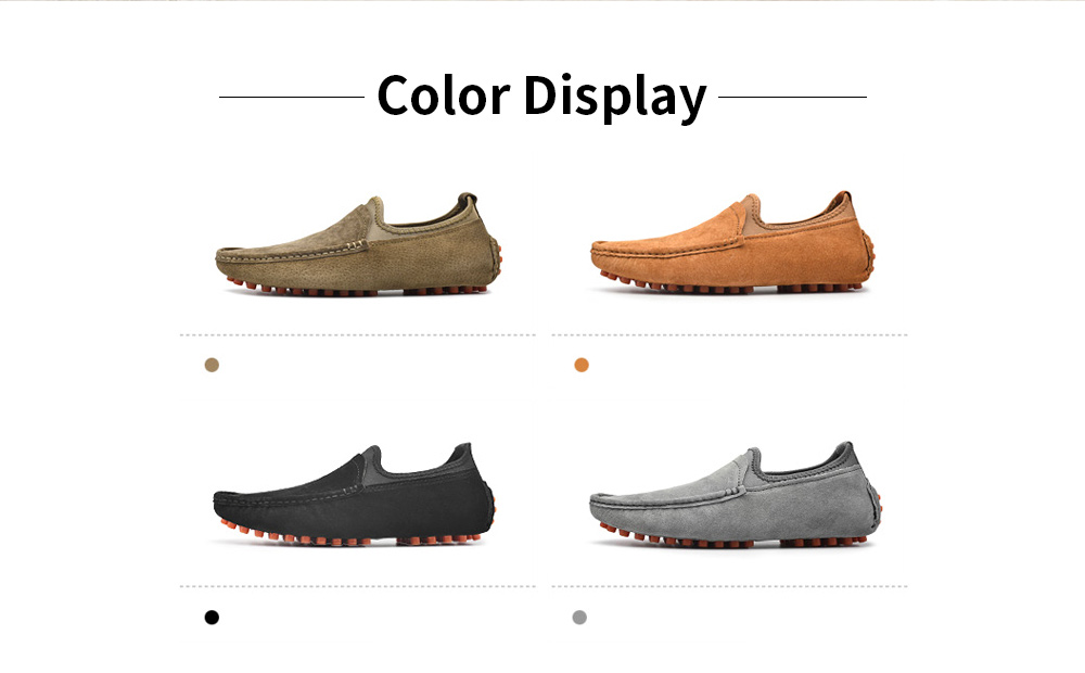 AILADUN Men Leather Casual Shoes color display