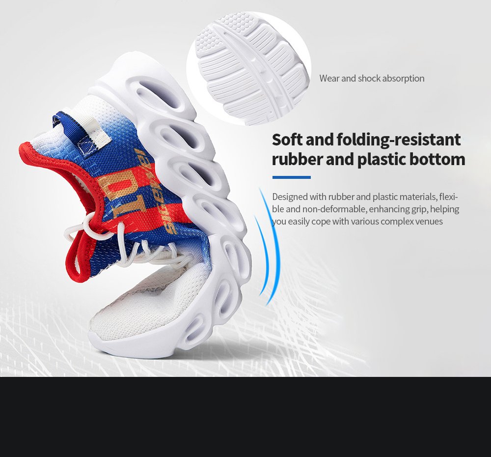 AILADUN Men Sneaker Soft and folding-resistant rubber and plastic bottom
