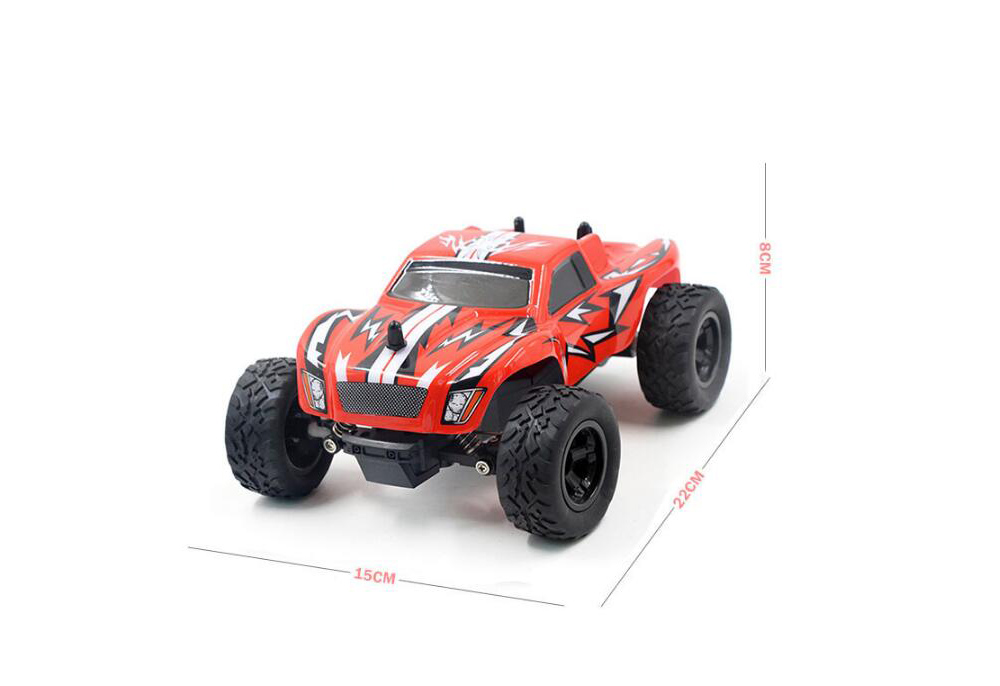 K24-1 2.4G Remote Control Four-wheel Drive Vehicle 1:24 RC Off-road Car - Blue Zircon