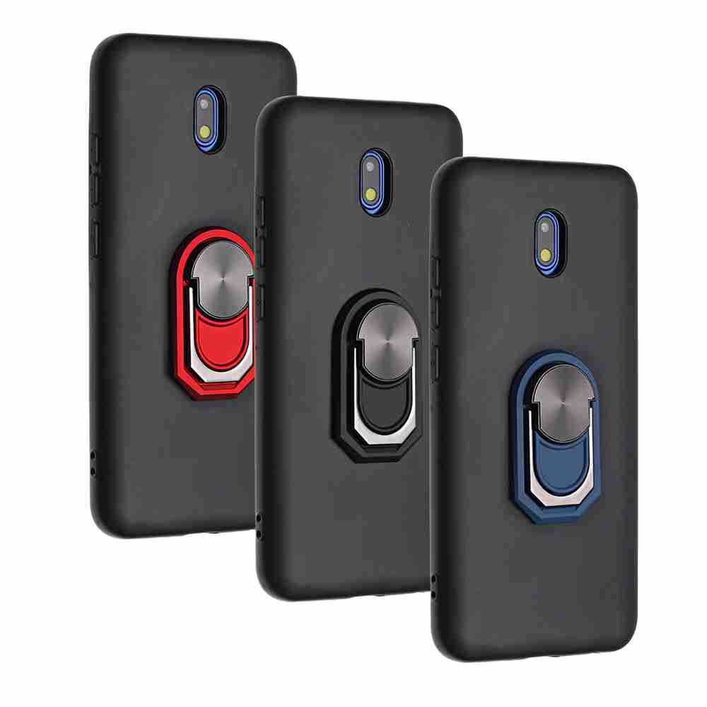 TPU Super Thick Armor Bracket Phone Case for Xiaomi Redmi 8A - Multi-C
