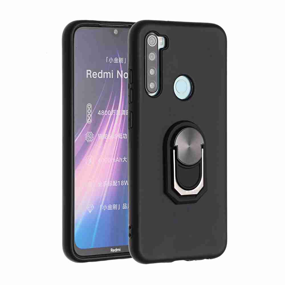 TPU Super Thick Armor Bracket Phone Case for Xiaomi Redmi Note 8T - Multi-C