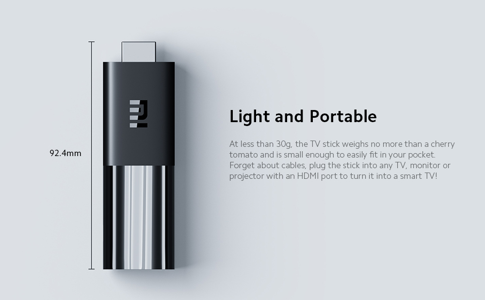 Xiaomi Mi TV Stick Light and Portable