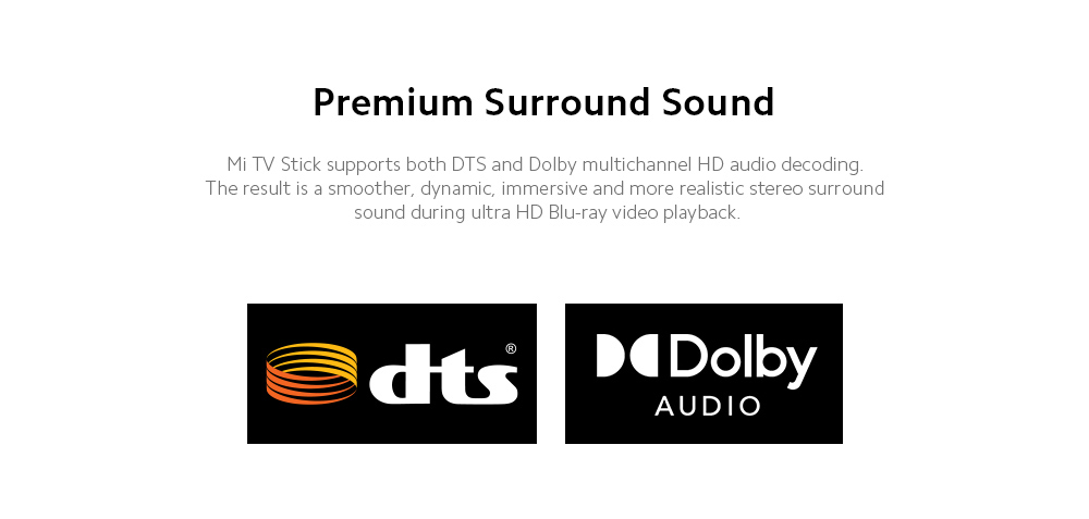 Xiaomi Mi TV Stick Premium Surround Sound