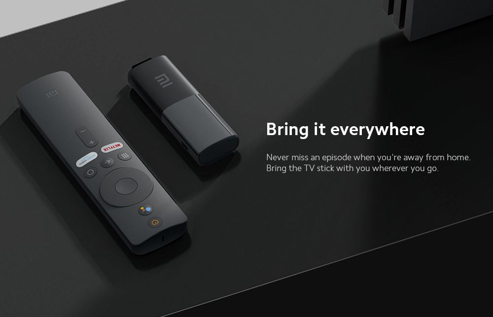 Xiaomi Mi TV Stick Bring it everywhere
