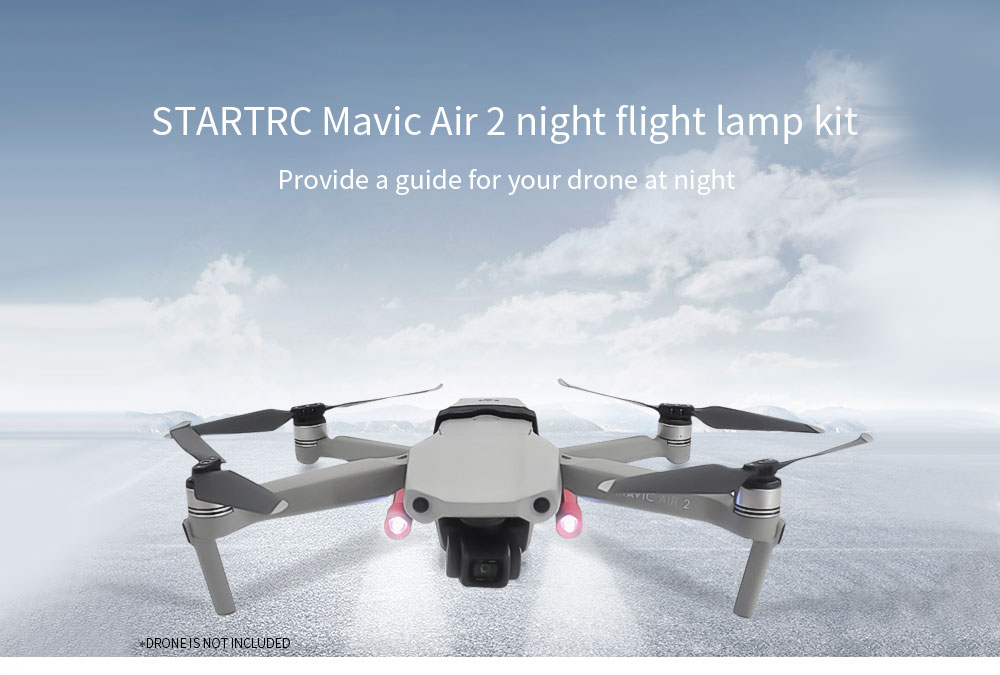 STARTRC Night Flight Lamp Kit for DJI Mavic Air 2 - Multi