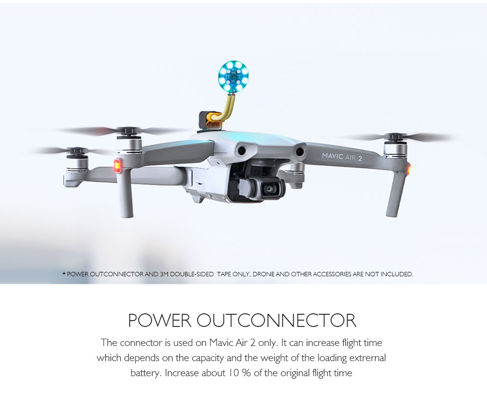 STARTRC Power Out Connector for DJI Mavic Air 2 - Multi