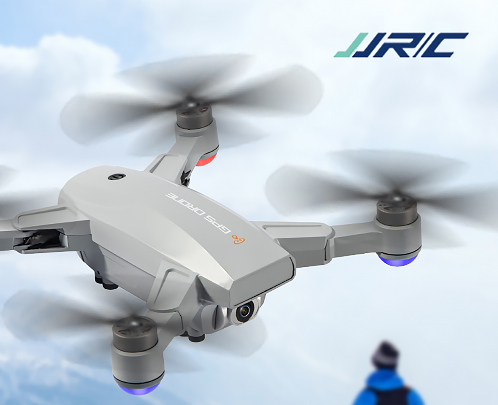 JJRC X16 5G WIFI FPV GPS RC Drone Quadcopter RTF - Gray 1 Battery