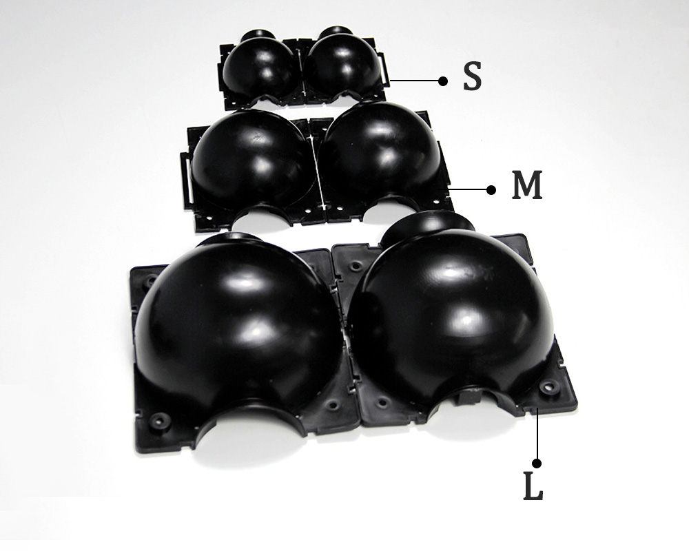 Seedling High Pressure Rooting Box Plant Pressure Box 5pcs - Black S