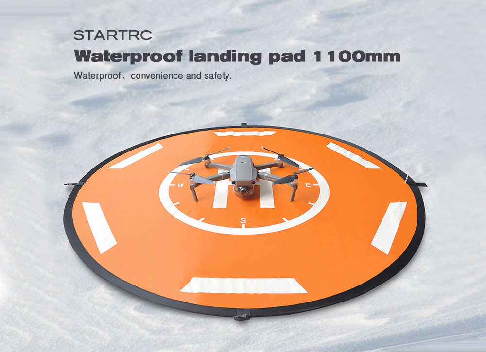 STARTRC 110cm Universal Folding Apron Landing Pad for DJI Mavic Air 2/ Royal 1 Royal 2/ Elf Series - Multi
