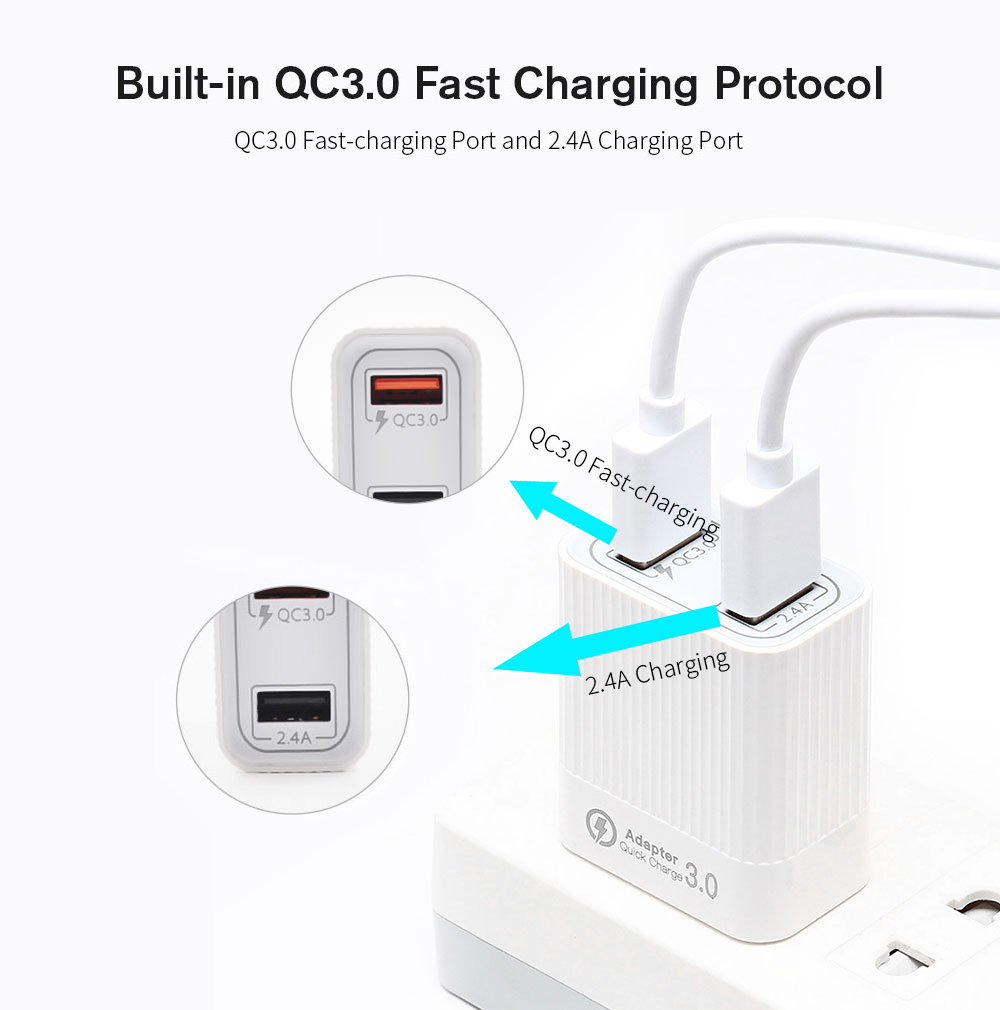 STARTRC USB QC3.0 Power Adapter for DJI Mavic Mini - White