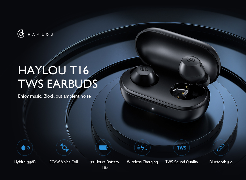 HAYLOU T16 Bluetooth Headphone Main Features
