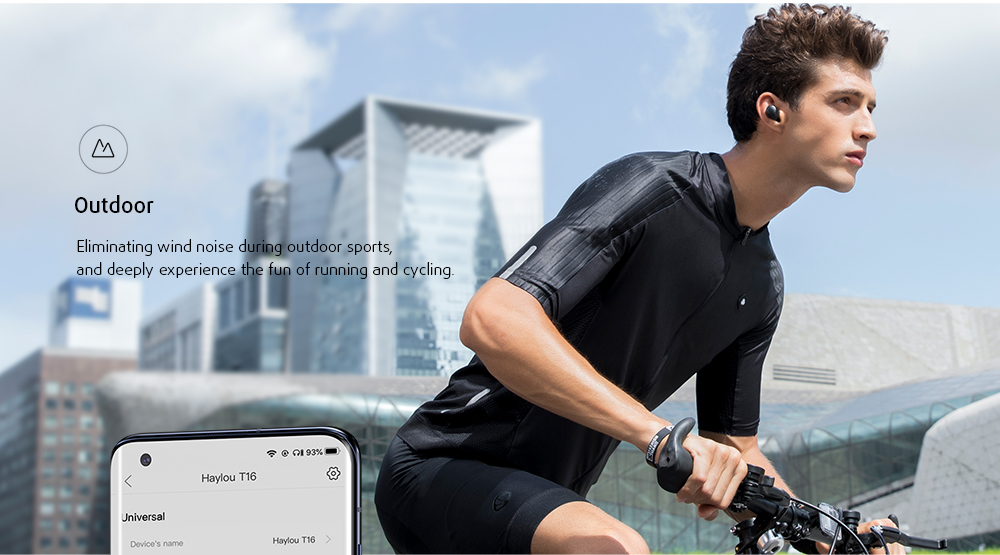 HAYLOU T16 Bluetooth Headphone Outdoor Mode