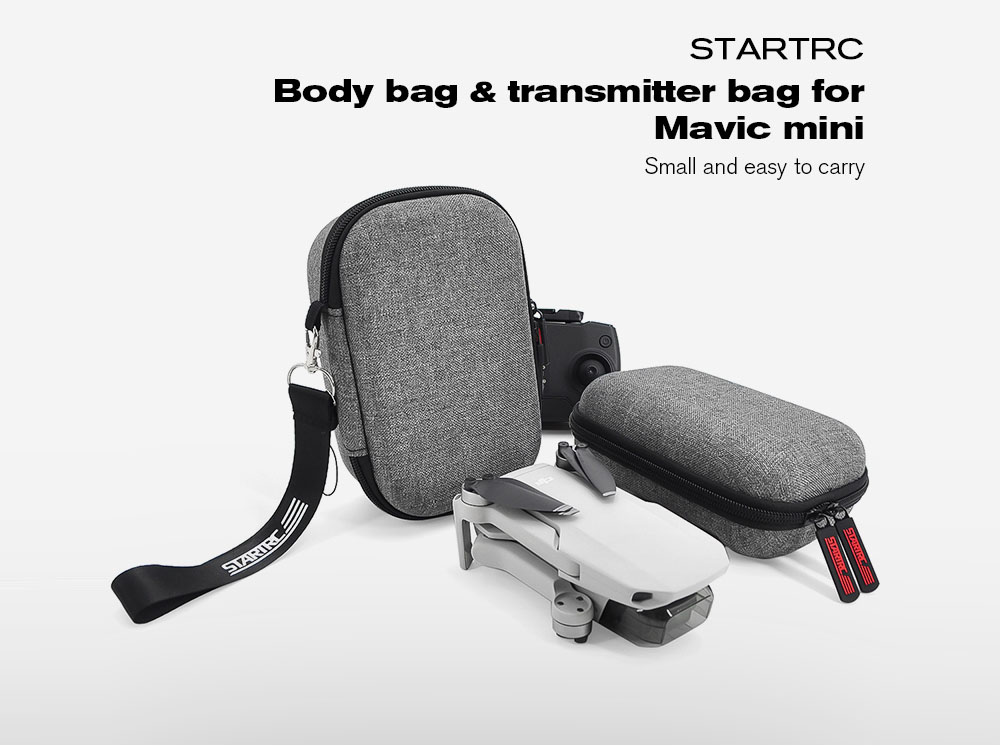 STARTRC Storage Bag for DJI Mavic Mini - Gray Transmitter Bag