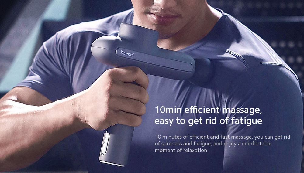 YUNMAI Massage Fascia Gun 10min efficient massage, easy to get rid of fatigue