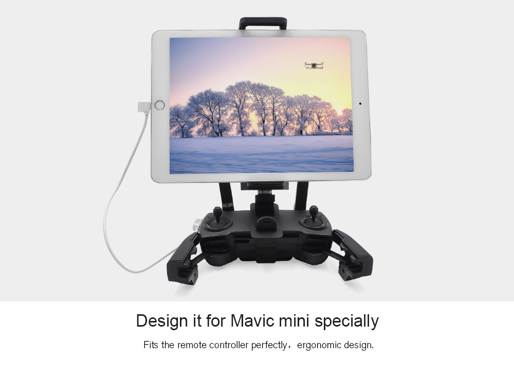 STARTRC Phone iPad Holder for DJI Mavic Mini - Black