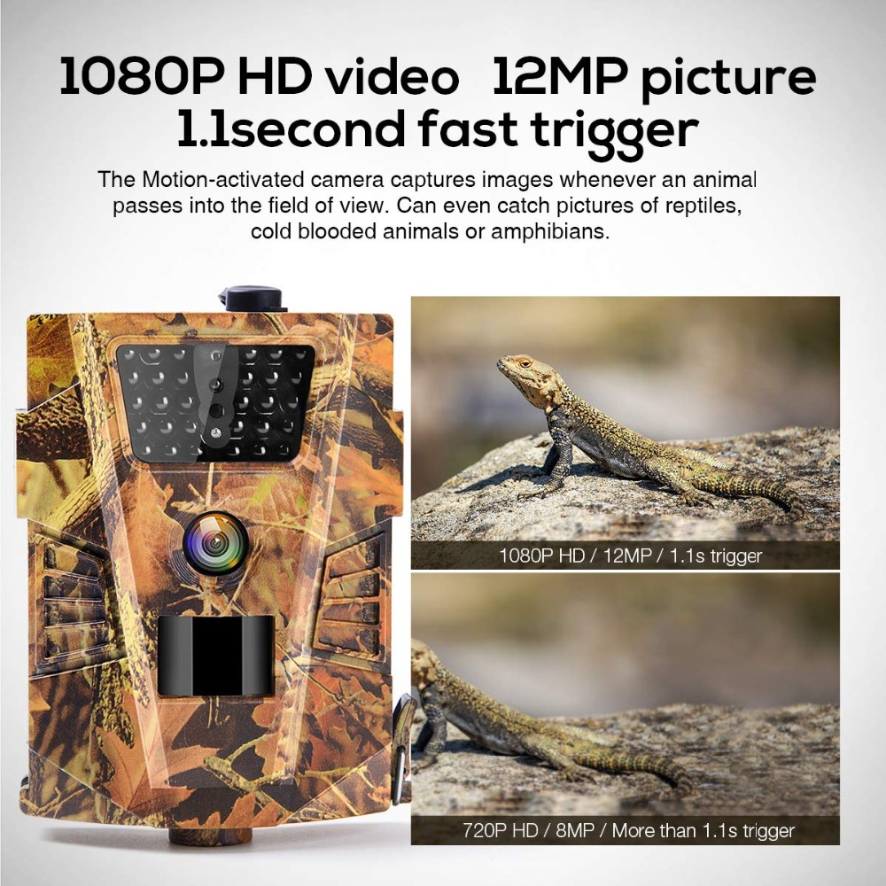 Outdoor Hunting Camera - Woodland Camouflage