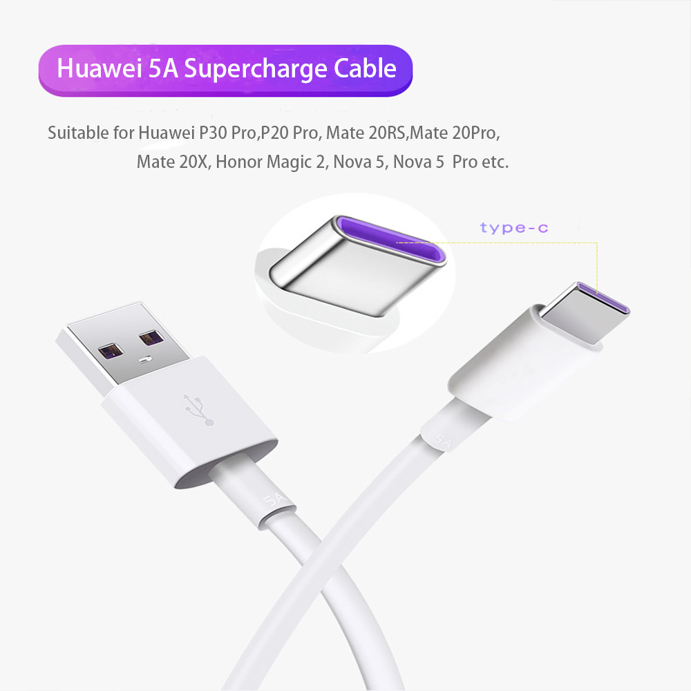 Double Fast Charge PD3.0 + USB3.0 Type-c Charging Head With Fast-charge Line Phone Fast Charge Set - White US Plug (2-pin)