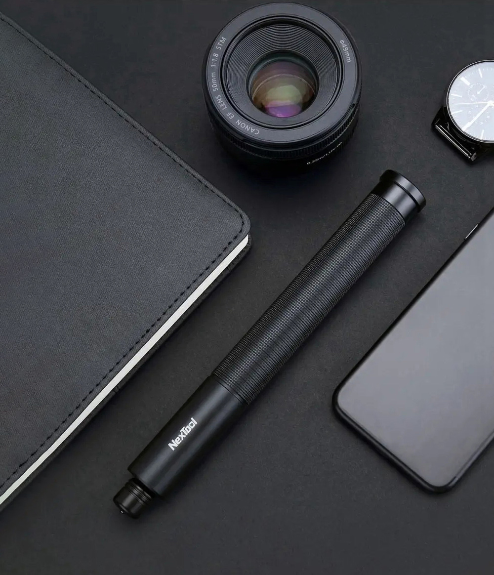 Safe Secure Survival Telescopic Rod Stick Car Emergency Personal Defense Broken Window To Escape from Xiaomi Youpin - Black