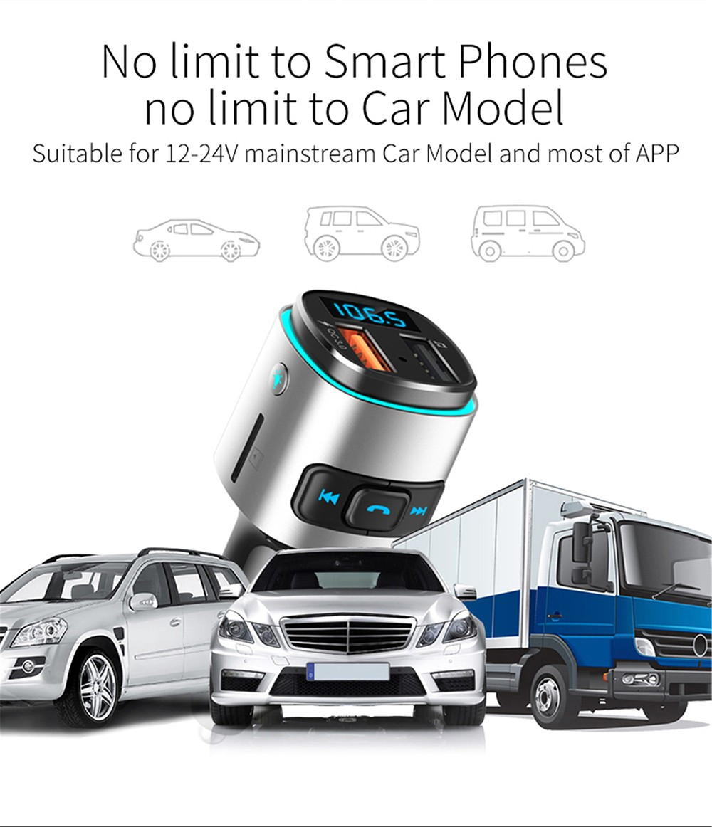 BC41 Bluetooth Car Mp3 Player No limit to smart phones, no limit to car model