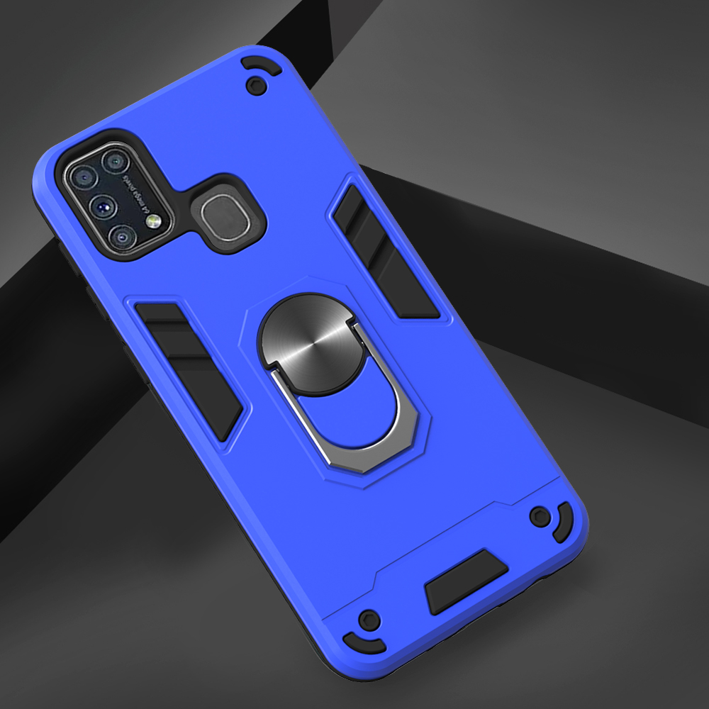 Two-In-One-Warframe Phone Case for Samsung Galaxy M31 - Cadetblue