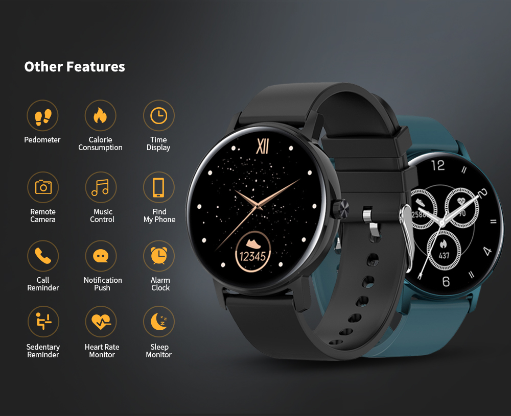 CORN WB05 Bluetooth Smart Watch Other Features