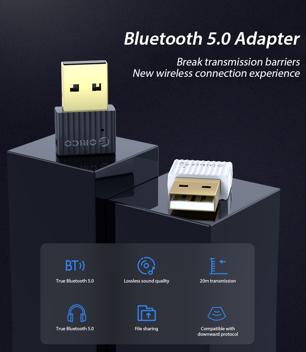 ORICO BTA-508 Bluetooth 5.0 Adapter