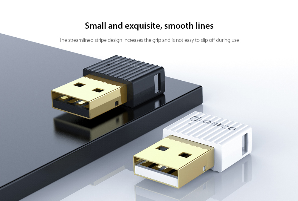 ORICO BTA-508 Bluetooth 5.0 Adapter Small and exquisite, smooth lines