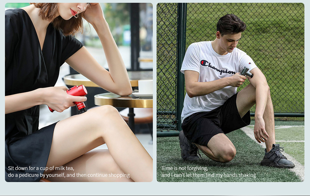 Mini Pocket Fascia Massage Gun Massager Not just sports, there are more occasions you will need nano