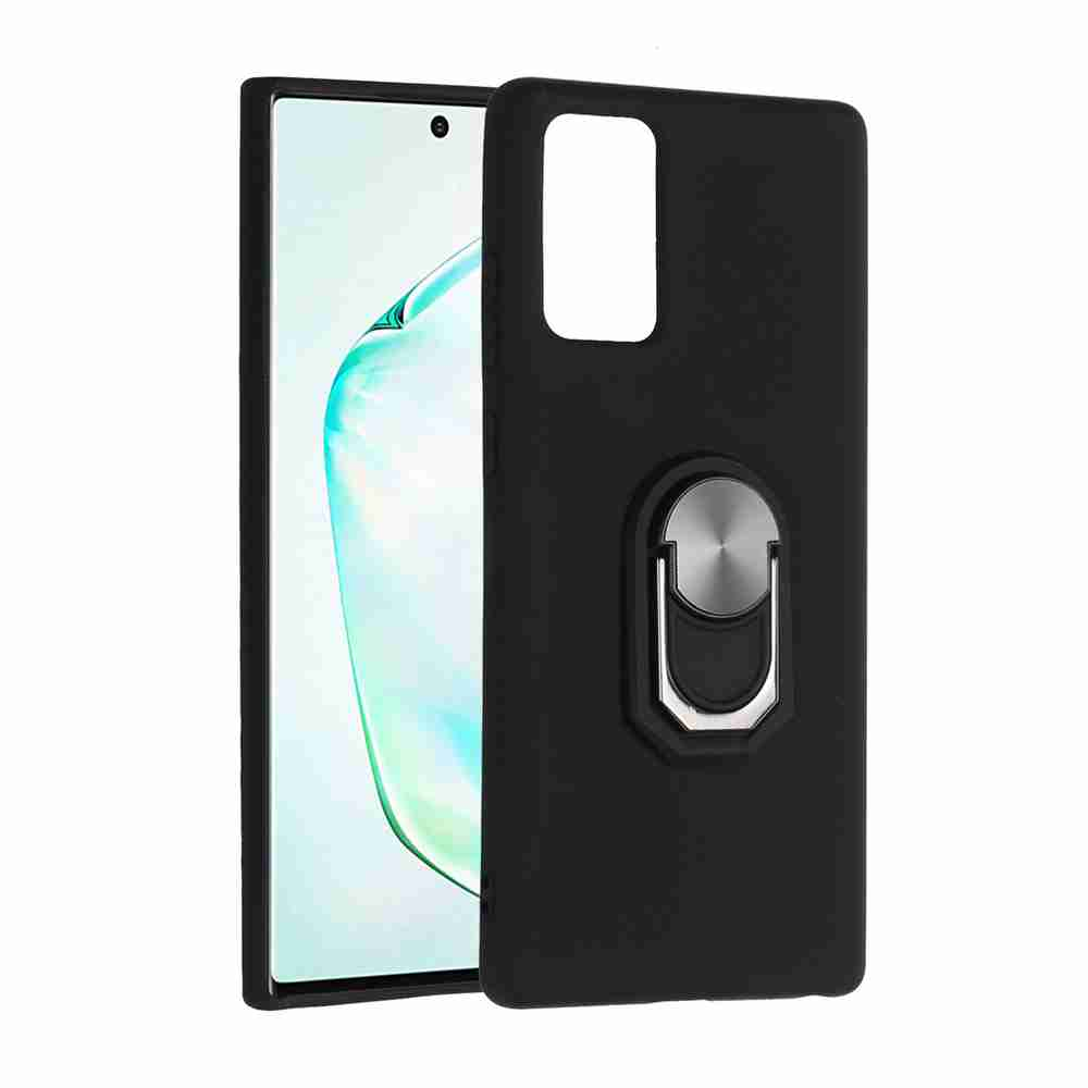 TPU Super Thick Armor Bracket Phone Case for Samsung Galaxy Note 20 - Multi-C
