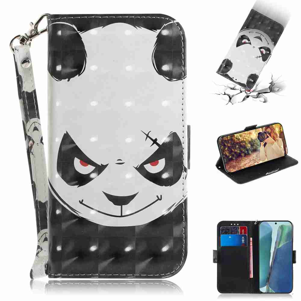 Multi-Pattern 3D Painted Phone Case for Samsung Galaxy Note 20 - Multi-H