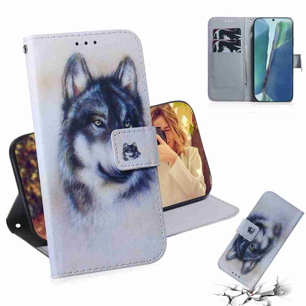 Multi-Pattern Painted Phone Case for Samsung Galaxy Note 20 - Multi-C