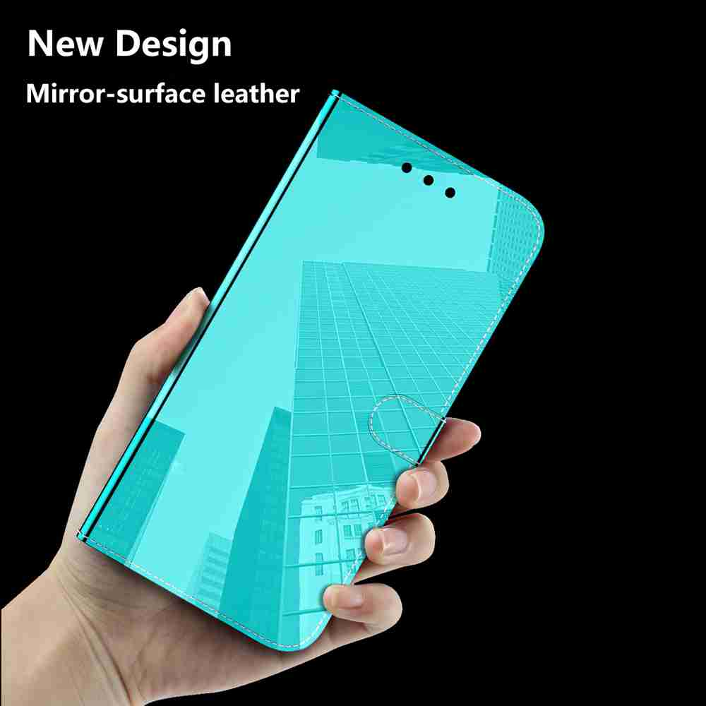 Pure Color Like Mirror Phone Case for Samsung Galaxy Note 20 - Dodger Blue
