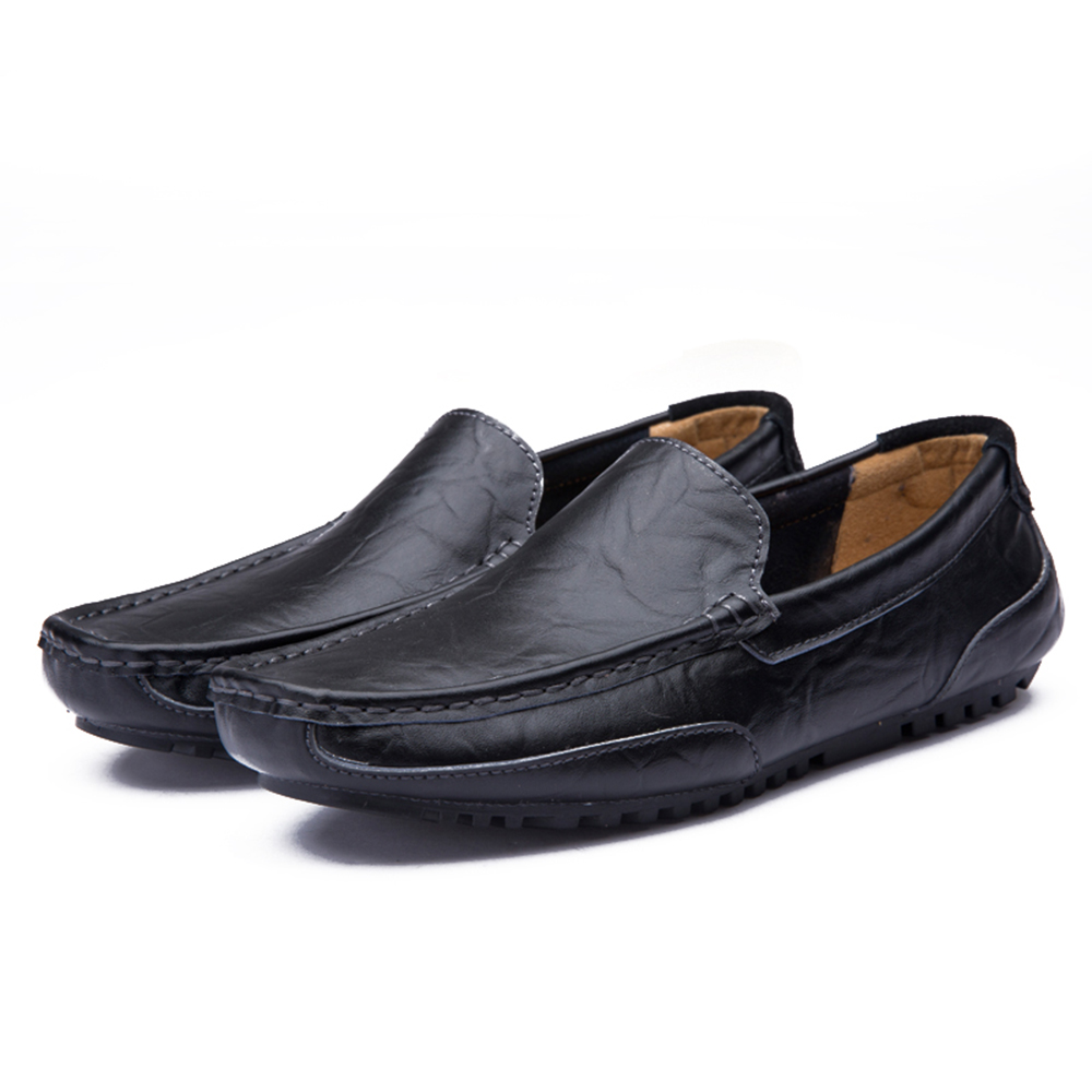 Men'S Fashion Casual Shoes Leather