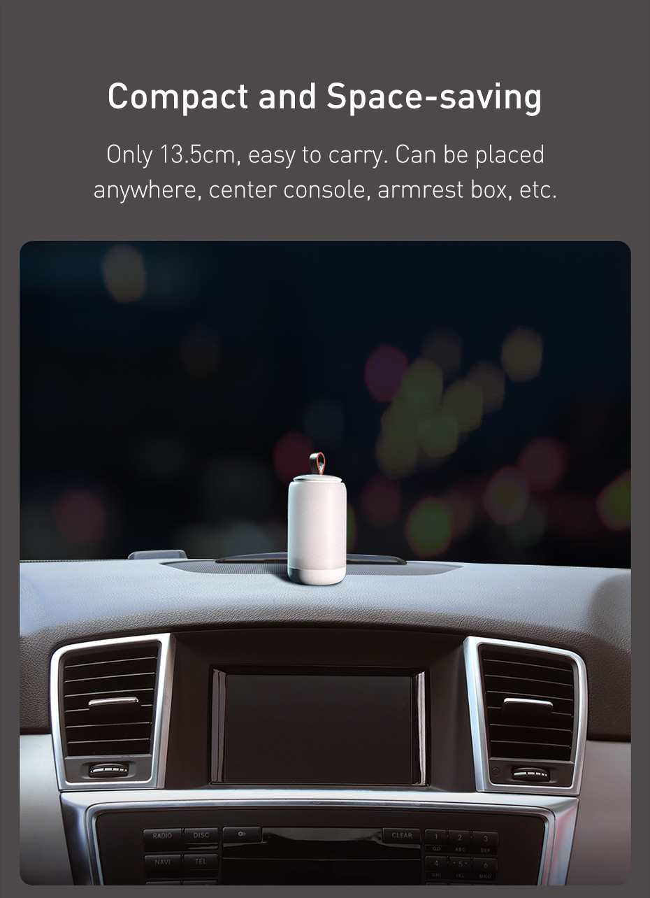 Baseus CRYJD01-A02 Starry Night Car Emergency Light Compact and Space-saving