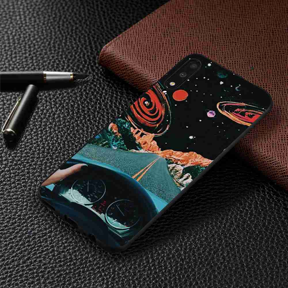 TPU Pattern Phone Case for Huawei P Smart Pro / Honor 9X / Y9S - Multi-I