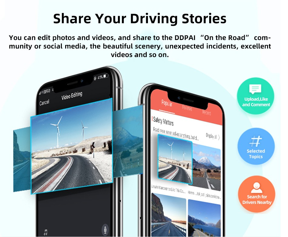 DDPai N3 Dash Cam DDPAI App Community, Share Your Driving Stories