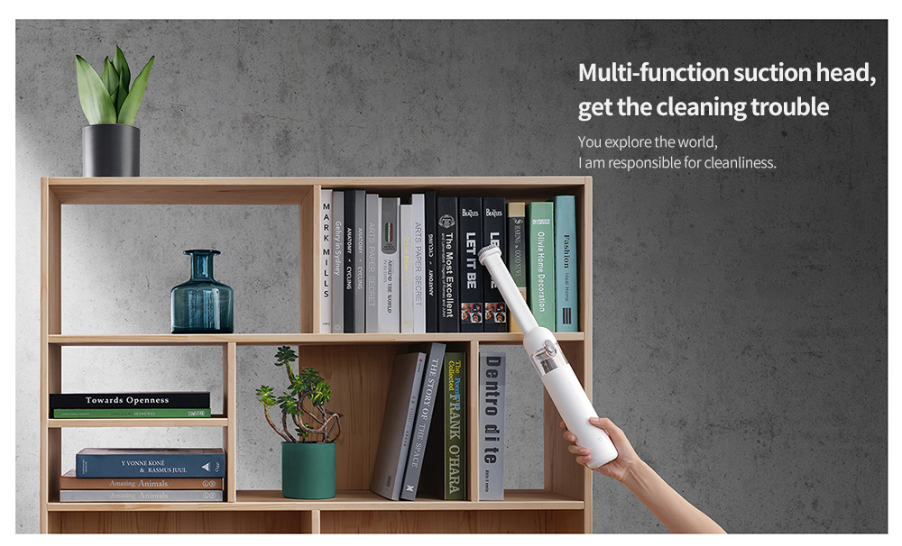 Xiaomi Mijia Handheld Portable Handy Car Home Vacuum Cleaner Multi-function suction head, get the cleaning trouble
