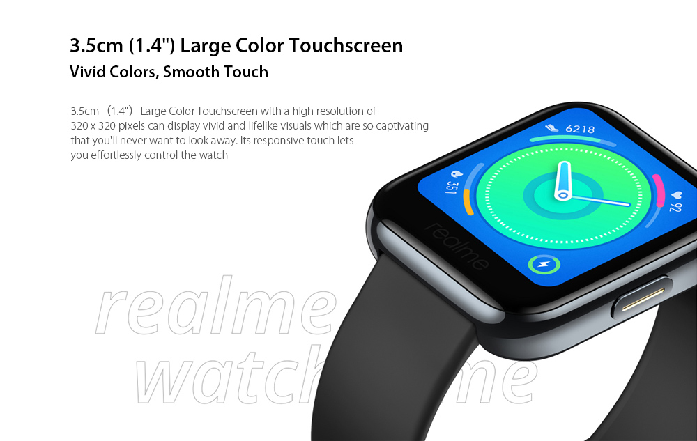 OPPO Realme Watches Smart Watch 3.5cm ( 1.4