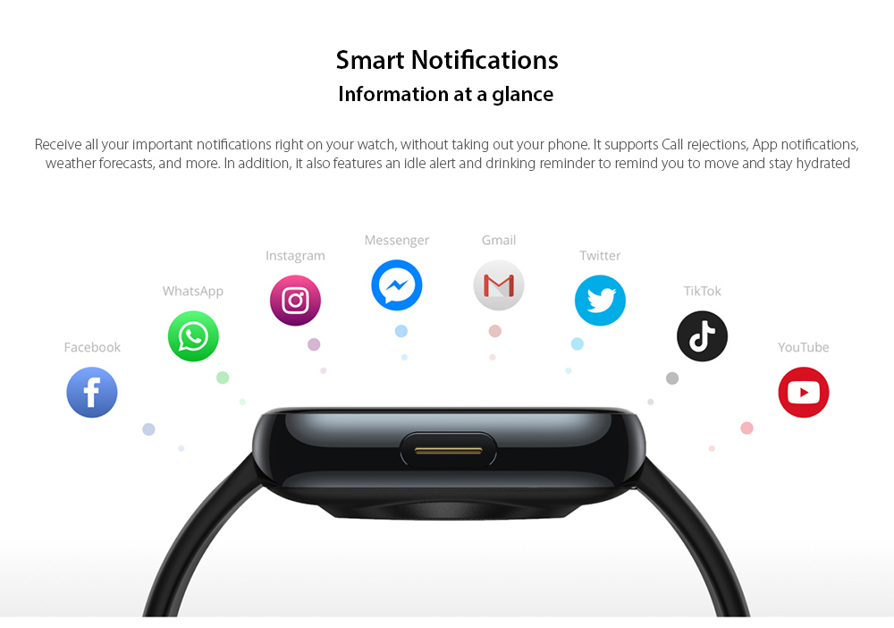 OPPO Realme Watches Smart Watch Smart Notifications