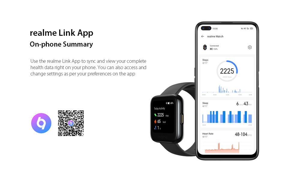 OPPO Realme Watches Smart Watch realme Link App