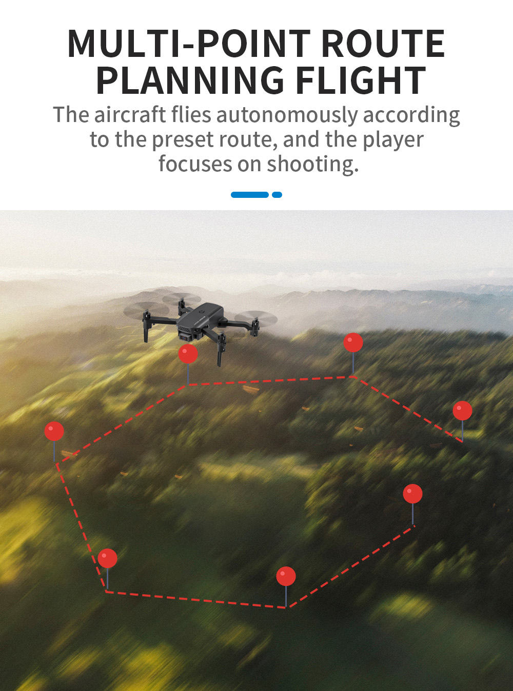 KF611 Mini WiFi FPV with 4K UAV Foldable RC Drone Quadcopter Toy - Black 1 Battery Color Box