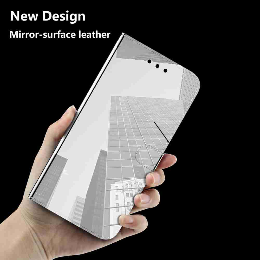 Pure Color Like Mirror Phone Case for Huawei P Smart 2020 - Platinum