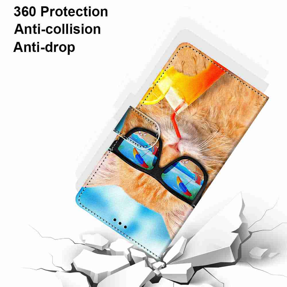 Flat  Painted Phone Case for Samsung Galaxy Note 20 - Multi-H
